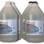 FR1 Crystal Clear Epoxy Resin to use on river tables, bar counter tops and table tops - 4 gallon kit - by FIBERS & RESINS