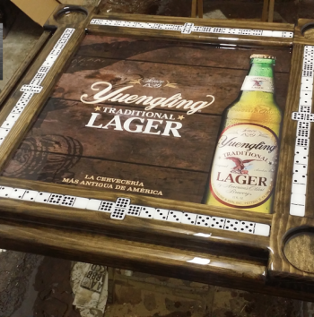 Yuengling Domino Table